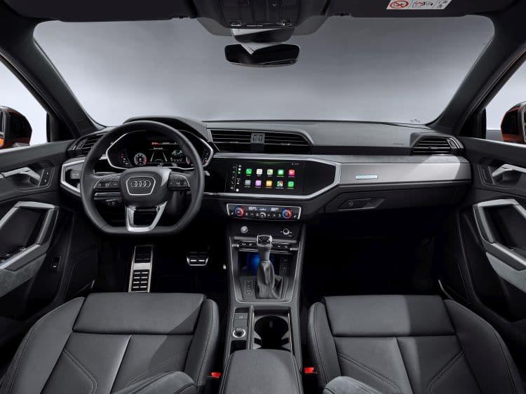 Audi Q3 Sportback wnętrze