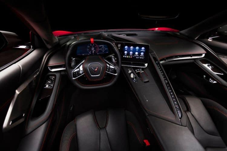 Wnętrze Corvette Singray