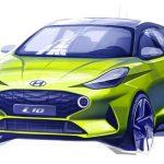 Hyundai i10 Nowej Generacji pierwszy szkic