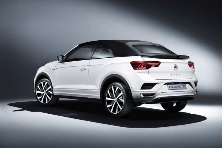 Volkswagen T-Roc Cabriolet z zamkniętym dachem