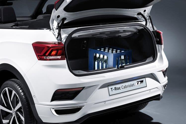 Volkswagen T-Roc Cabriolet bagażnik
