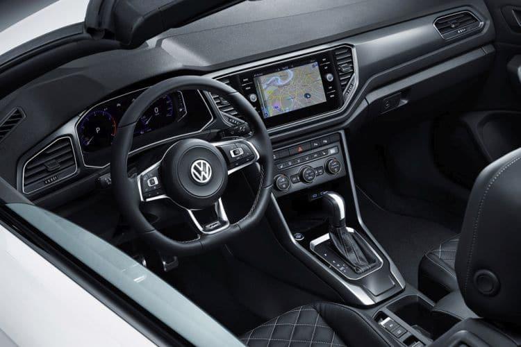 Volkswagen T-Roc Cabriolet kokpit