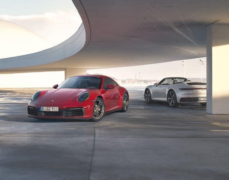 Porsche 911 Carrera 4 Coupé i 911 Carrera 4 Cabriolet