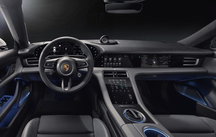 Porsche Tycan kokpit