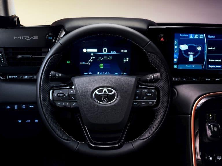 Toyota Mirai kokpit