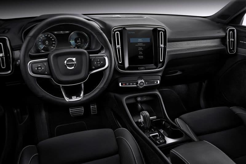 Volvo XC40 Recharge T5 plug-in hybrid - wnętrze